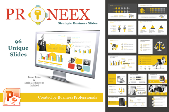Proneex Data Driven Easy Edit Slides
