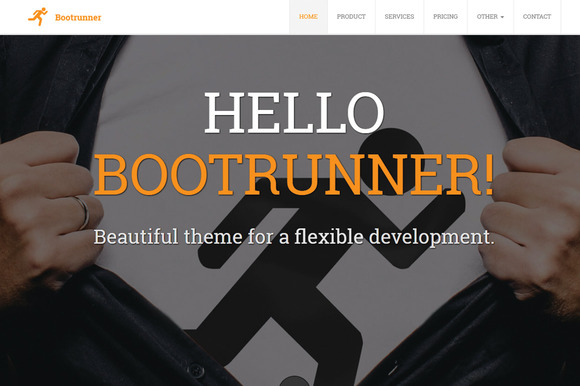 Bootrunner Business Theme