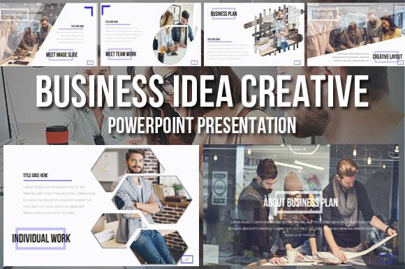 Business Idea Creative Presentation