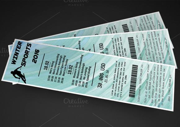 Multipurpose Winter Event Ticket