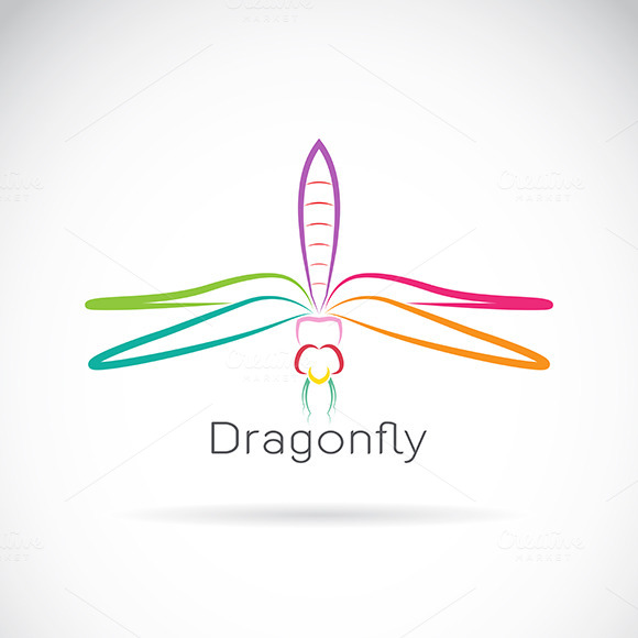 Vector Of Dragonfly