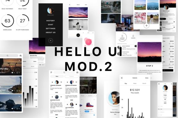 Hello UI Kit Mod 2 50% OFF 7 Days