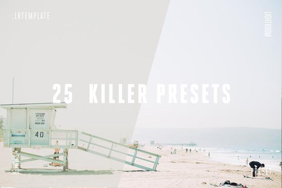 25 Killer Lightroom Presets