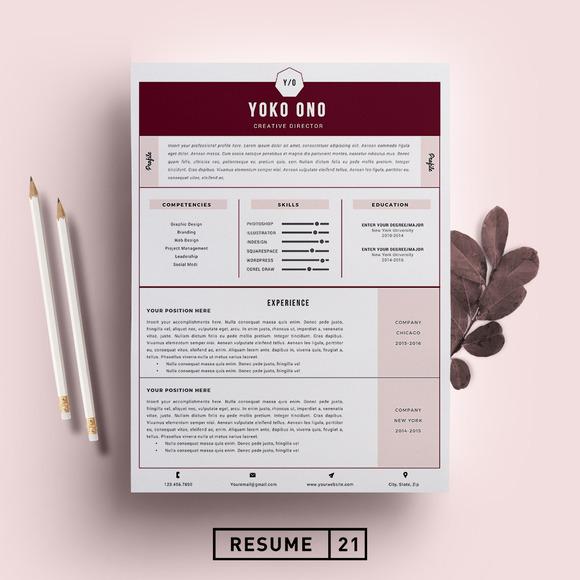 Director resume template