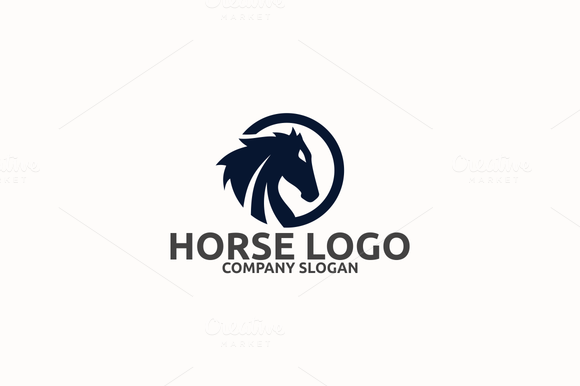 red horse with wings logos 187 designtube creative design