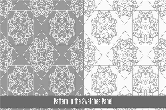 6 Arab Tiles Seamless Pattern