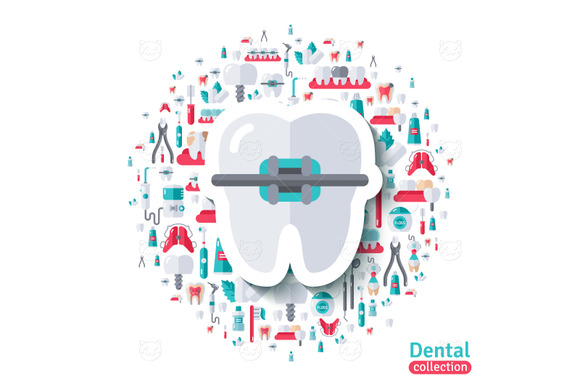 Tooth In Braces