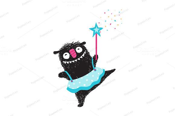 Monster Dancing Princess