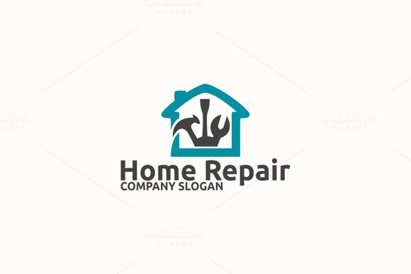 Free Home Repair Logos...