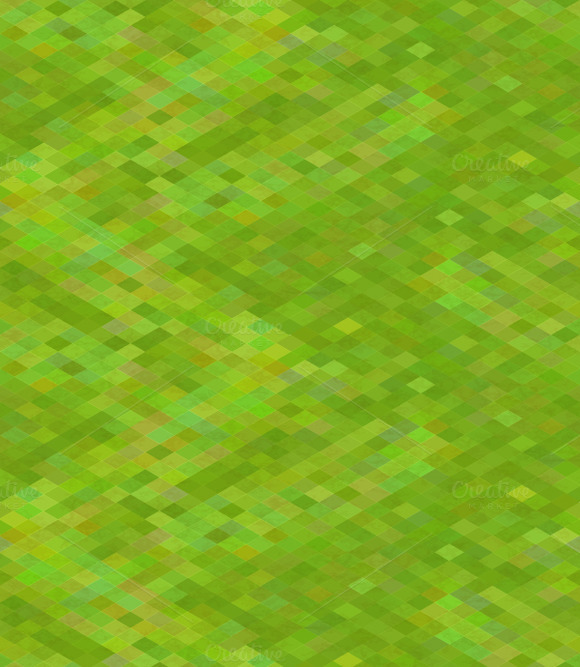Pixelated Green Grass Pattern