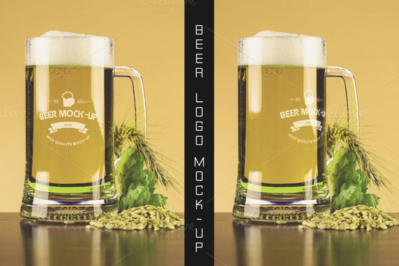 Beer Logo Mock-up #13