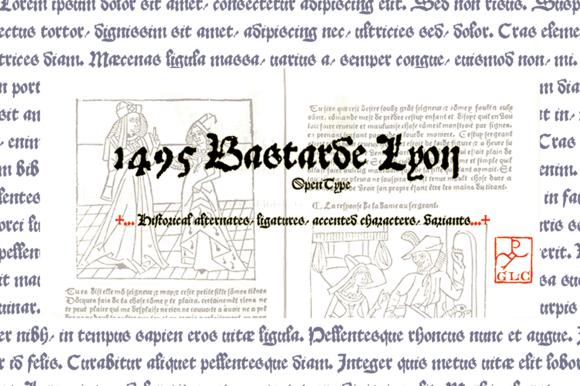 1495 Bastarde Lyon OTF