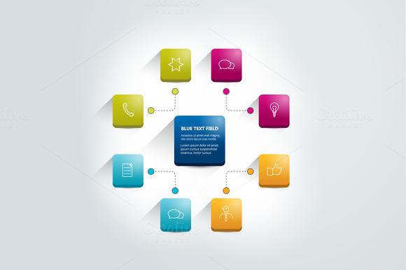 Infographics Flowchart