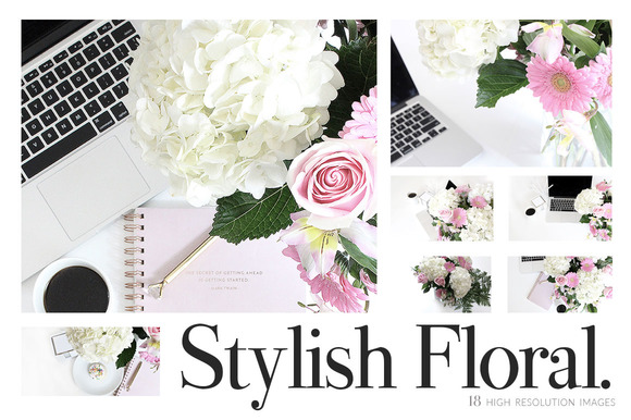 Floral Pastel Styled Stock Pack