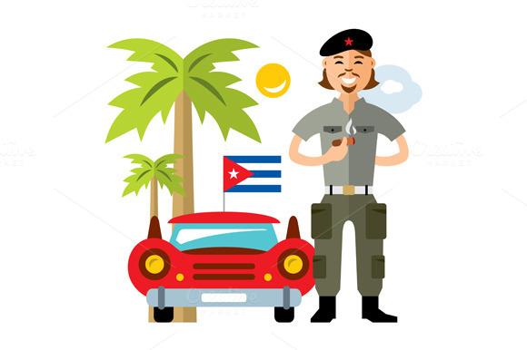 Cuba Travel Concept