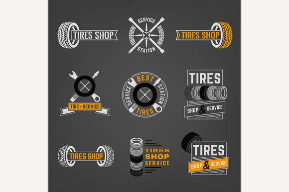 Tires Shop Logos