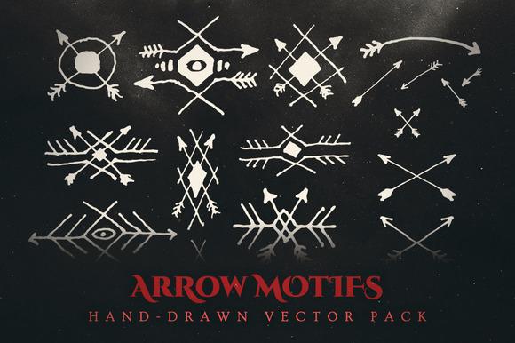 Esoteric Arrows Tribal Vectors