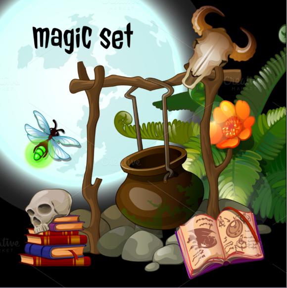 Magic Stuff Of The Sorcerer