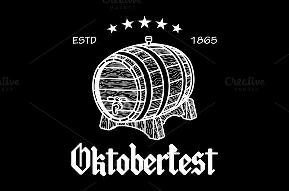 Beer Festival Oktoberfest Vector