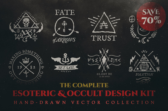 Complete Esoteric Occult Design Kit