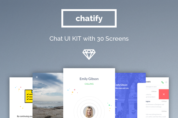 Chatify Messenger App UI Kit