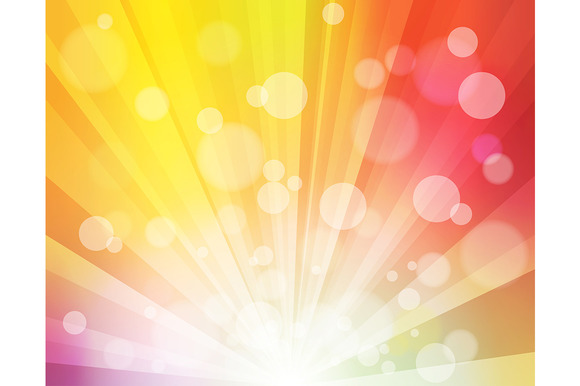 Rainbow Sunshine Effect