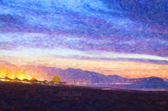 May Warm Evening On The Black Sea Sunset On Sea In Turkey