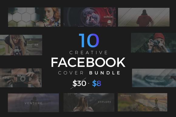 10 Facebook Timeline Cover Bundle V1