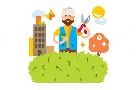 Gardener In The City