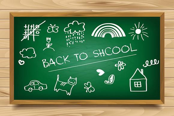 School Green Board Set