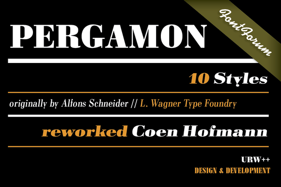 Pergamon Condensed Bold