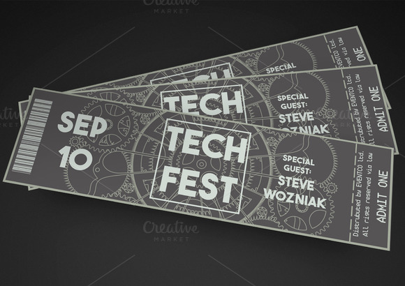 Tech Fest Event Ticket