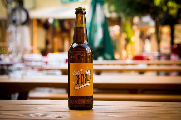 Beer Mockup #14