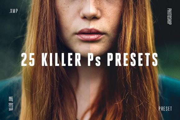 25 Killer Photoshop Presets