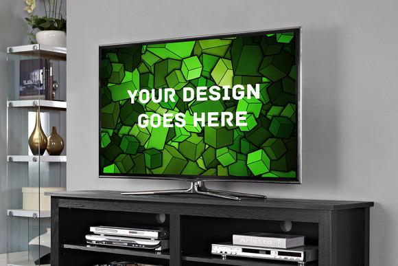Television Display Mock-up#6