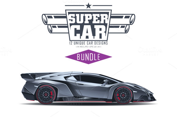 SUPER CARS BUNDLE