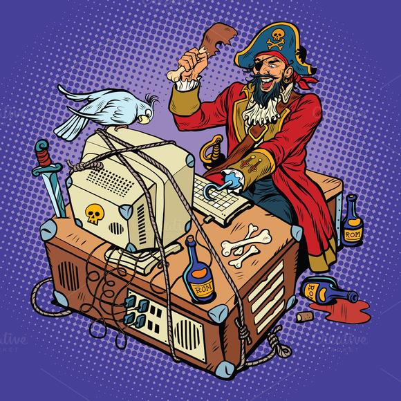 Software Piracy The Hacker Captain