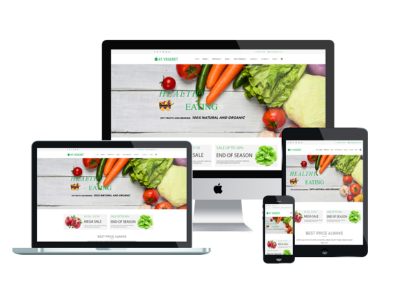 AT VEGERET Joomla Template