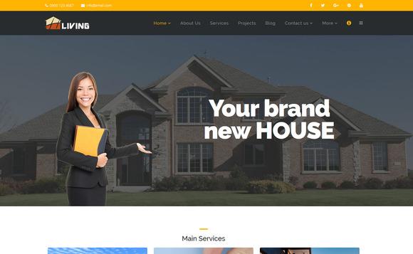 Living Builder Html Template