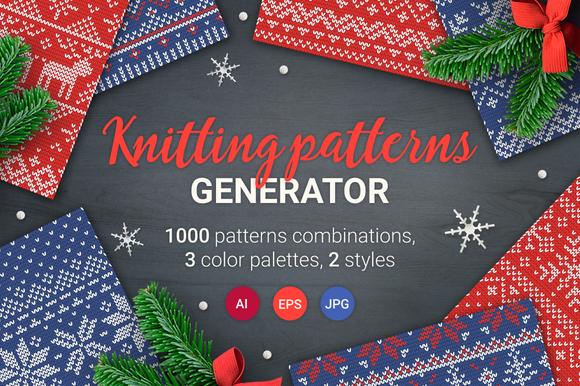 Knitting Pattern Generator : Seamless Patterns Generator Torrent Or Nzb Or Hotfile   Designtube - Creative...