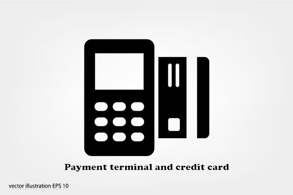 Payment Terminal And Credit Card