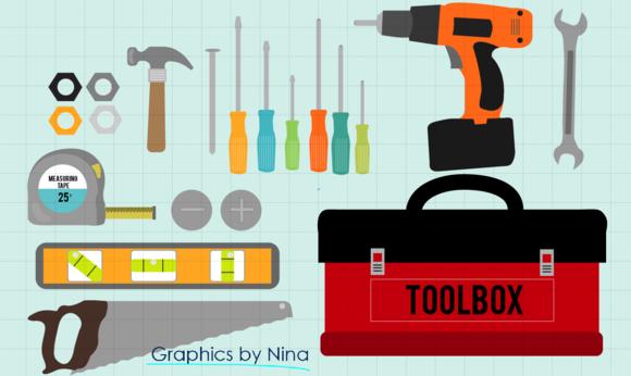Tools-Toolbox Clipart