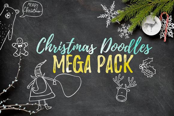 Christmas Doodles Mega Pack