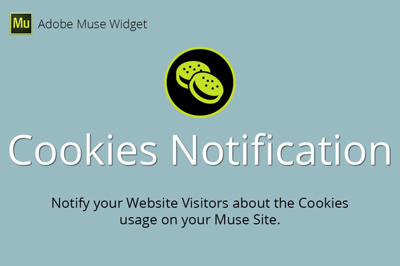 Cookies Notification Muse Widget