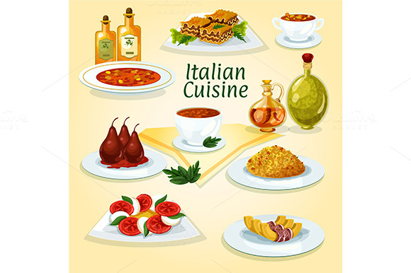 Italian Cuisine Traditional Dishes