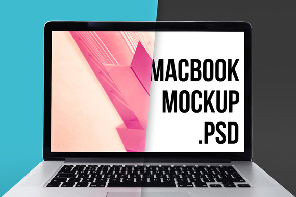 Macbook Pro Mockup PSD Super HD