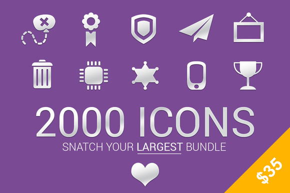 Snatch Largest Bundle-2000 Icons