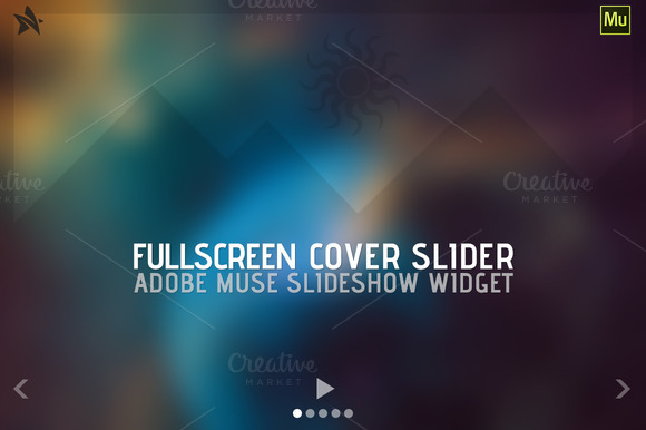 Fullscreen Cover Slider Adobe Muse