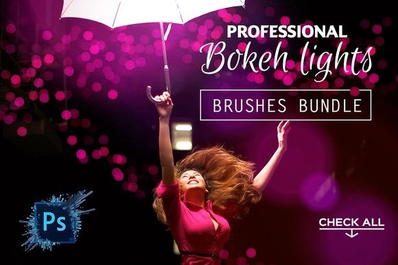 Professional Bokeh Lights Brushes