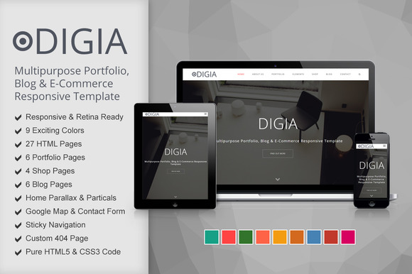 Digia Digital Creative Template